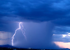 Arizona Monsoon Storm 2006 Royalty Free Stock Images