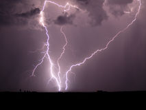 Arizona Monsoon Storm 2006 stock photography