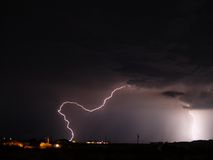 Arizona Monsoon Storm 2006r Stock Photography