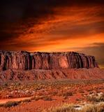 Arizona Monument Valley Sunset Stock Photos