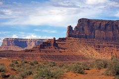 Arizona Monuments Valley Stock Photo