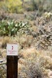 Arizona Mountain Desert Landscape Royalty Free Stock Image