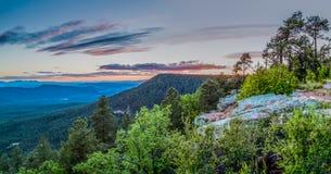 Arizona Mountain Desert Landscape Royalty Free Stock Photography
