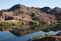 Arizona mountain refections Royalty Free Stock Image