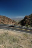 Arizona mountain road Royalty Free Stock Photos