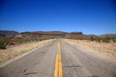 Arizona Mountain Road Royalty Free Stock Images