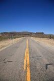 Arizona Mountain Road Stock Image