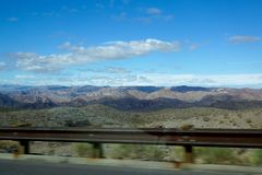 Arizona mountains Stock Photo