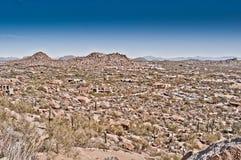 Arizona-Nachtisch Lizenzfreie Stockbilder