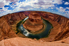 Arizona Page horseshoe bend area Stock Photo