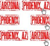 arizona phoenix Arkivfoto