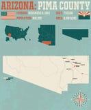 Arizona: Pima okręg administracyjny Obrazy Stock