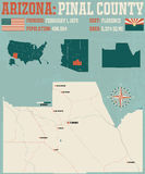 Arizona: Pinal okręg administracyjny Zdjęcia Royalty Free