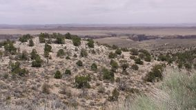 Arizona, poca garganta de Colorado, cacerola de A a través del pequeño Colorado Gorge a distancia almacen de video