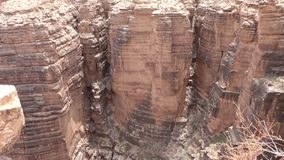 Arizona, poca garganta de Colorado, varias formaciones de roca dentro del pequeño Colorado Gorge almacen de video