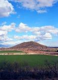 Arizona pustyni gospodarstwa rolne Zdjęcie Royalty Free