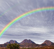Arizona Rainbow Royalty Free Stock Images
