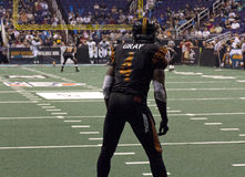 Arizona Rattlers Arena Football Kick Receiver Royalty Free Stock Photos