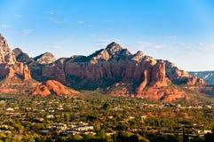 Arizona Red Rocks durind sunrise Royalty Free Stock Photo