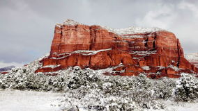 Arizona Red Rocks stock footage