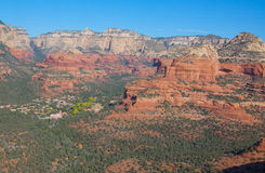 arizona red vaggar sedona Royaltyfri Bild