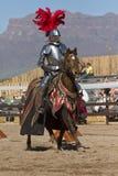 Arizona renässansfestival som Jousting Royaltyfri Foto