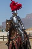 Arizona renässansfestival som Jousting Fotografering för Bildbyråer