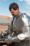 Arizona renässansfestival som Jousting Arkivbild