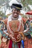 Arizona Renaissance Festival Costumed Character. S welcome visitors to the Arizona Renaissance Festival royalty free stock photos