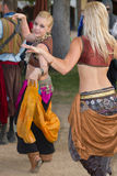 Arizona Renaissance Festival Dancing Wench Royalty Free Stock Images