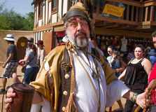 Arizona Renaissance Festival Entertainers Stock Photo