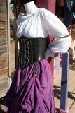 Arizona Renaissance Festival Fashion Clothing Stock Photo