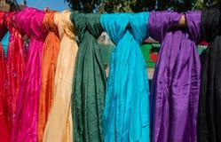 Arizona Renaissance Festival Fashion Scarves Stock Photography