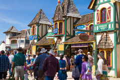 Arizona Renaissance Festival Grounds Royalty Free Stock Photo
