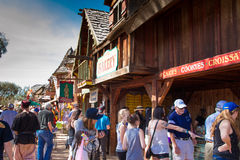 Arizona Renaissance Festival Grounds Stock Image