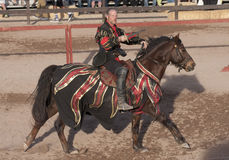 Arizona Renaissance Festival Jousting. The Arizona Renaissance Festival is one of the largest in the United States. It is five festivals rolled into one giant Royalty Free Stock Images