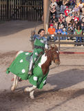 Arizona Renaissance Festival Jousting Royalty Free Stock Photos