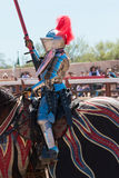 Arizona Renaissance Festival Jousting Stock Photos
