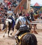 Arizona Renaissance Festival Jousting Stock Image