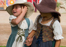 Arizona Renaissance Festival Kids Stock Images
