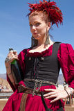 Arizona Renaissance Festival Maiden Royalty Free Stock Images