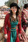Arizona Renaissance Festival Maiden Royalty Free Stock Photography