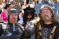 Arizona Renaissance Festival Men Stock Image