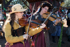 Arizona Renaissance Festival Musicians Royalty Free Stock Images