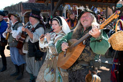 Arizona Renaissance Festival Musicians Royalty Free Stock Image