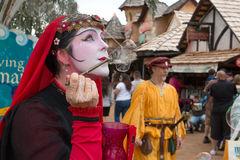 Arizona Renaissance Festival People Stock Image