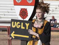 Arizona Renaissance Festival Wench Royalty Free Stock Image