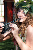 Arizona-Renaissance-Festival-Zweig-Fee Lizenzfreies Stockfoto