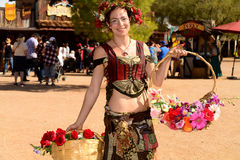 2016 Arizona renesansu festiwal Obrazy Royalty Free