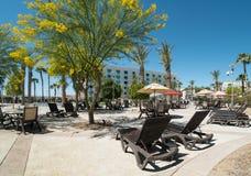 Arizona resort pool Stock Photo